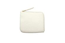 Mezzo Shrinkを使用した白色のL字型ミニ財布