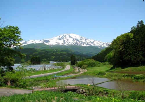 夏の鳥海山(山形県)
