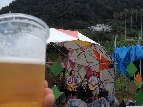 生ビールとアーティスト