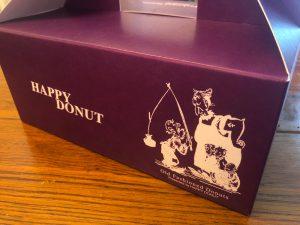 HAPPY DONUTSの化粧箱