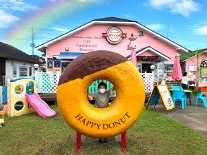 HAPPY DONUTSのオブジェ